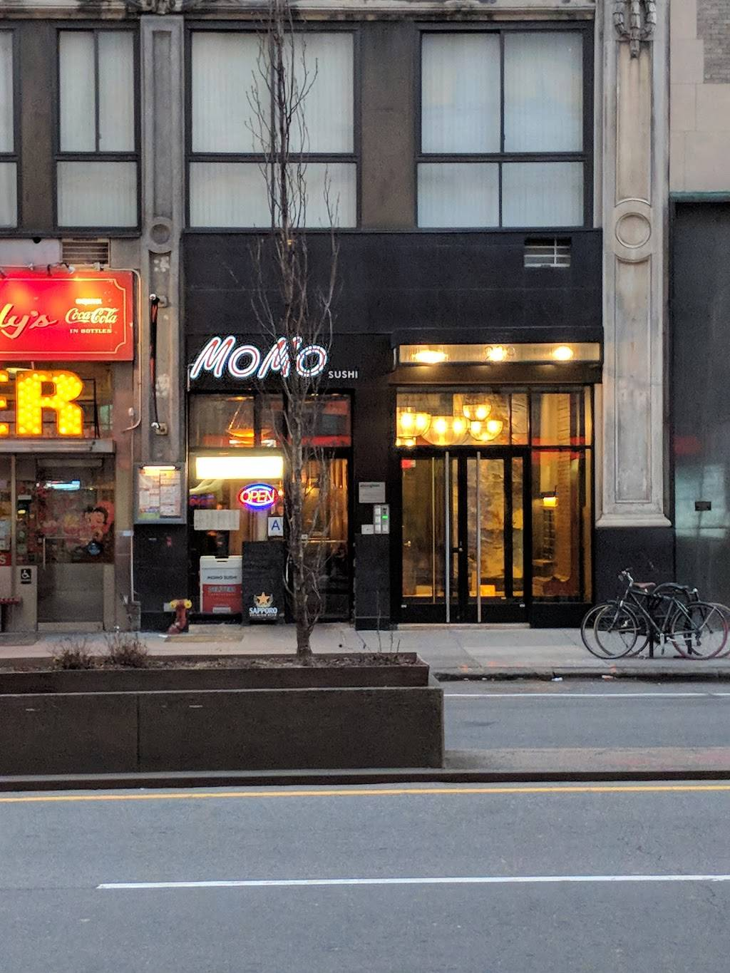 MoMo Sushi | restaurant | 239 Park Ave S, New York, NY 10003, USA | 2126777001 OR +1 212-677-7001