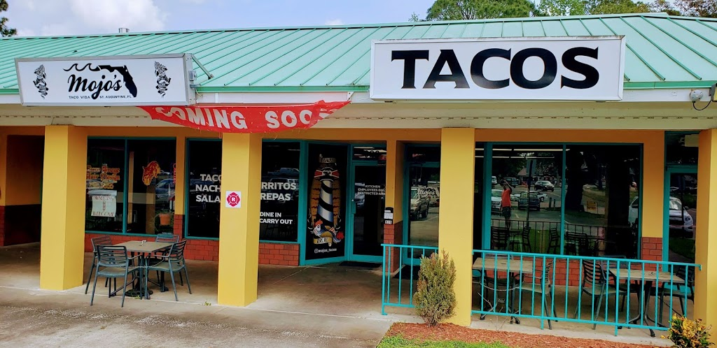 Mojos Tacos-Mainland | restaurant | 926 Santa Maria Blvd, St. Augustine, FL 32086, USA | 9046151957 OR +1 904-615-1957