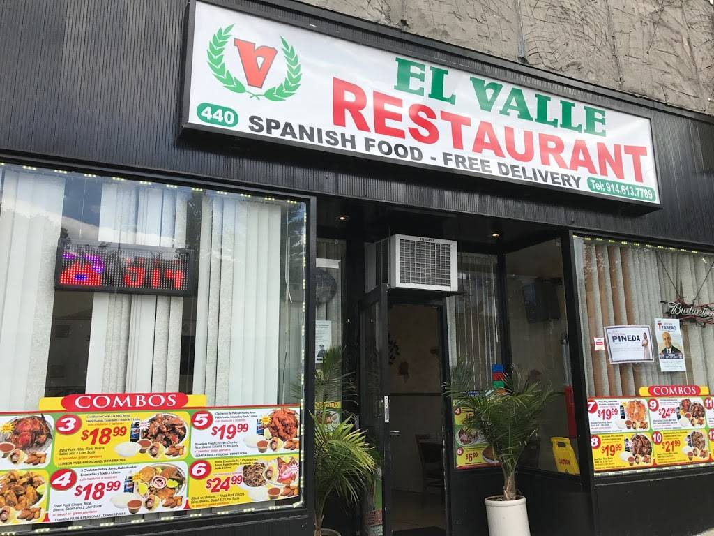 El Valle Restaurant 440 Riverdale Ave Yonkers Ny 10705 Usa