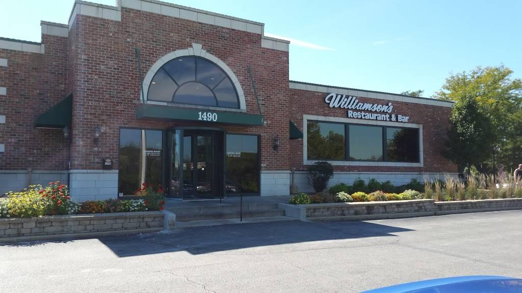 Williamsons Restaurant & Bar | restaurant | 1490 W Maple St, New Lenox, IL 60451, USA | 8154858585 OR +1 815-485-8585