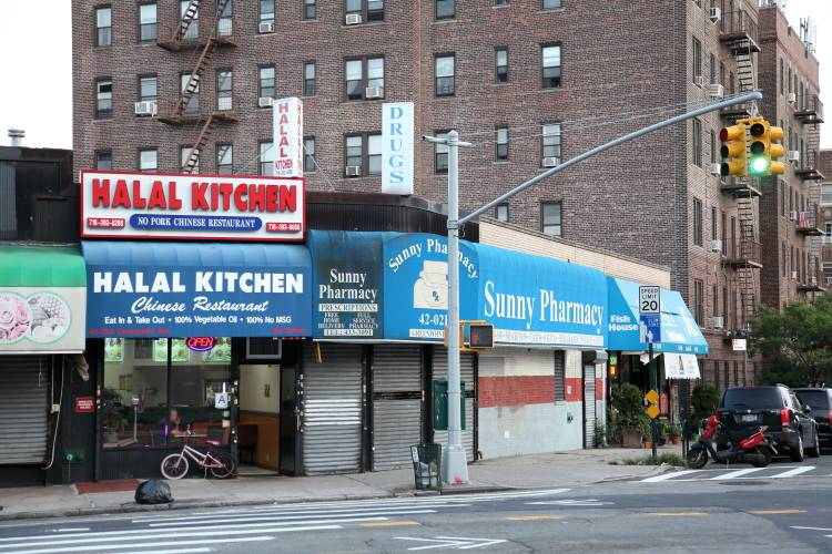 Halal Kitchen | restaurant | 42-02 Greenpoint Ave, Sunnyside, NY 11104, USA | 7183928688 OR +1 718-392-8688