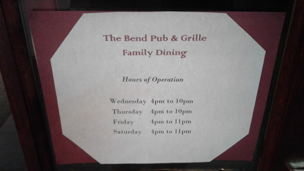 The Bend Pub and Grill at The Ramada South Bend | restaurant | 52890 IN-933, South Bend, IN 46637, USA | 5742725220 OR +1 574-272-5220