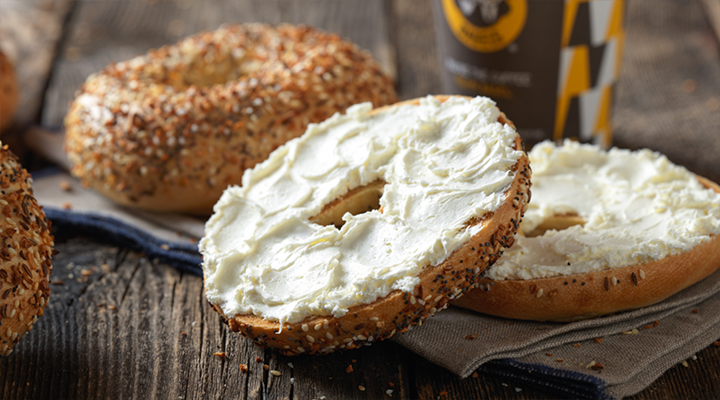 Einstein Bros. Bagels | cafe | LaGuardia Airport, Center Food Court, Terminal B, Flushing, NY 11371, USA | 5167923957 OR +1 516-792-3957