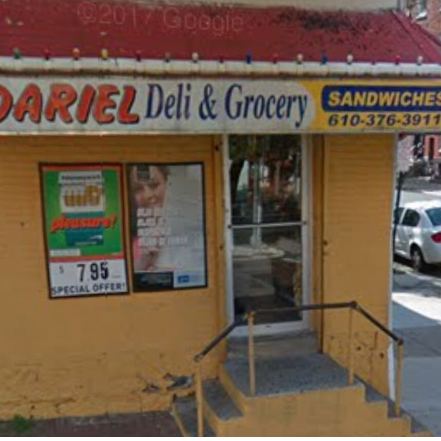 Dariel Deli & Grocery | restaurant | 153 N 4th St, Reading, PA 19601, USA | 6103763911 OR +1 610-376-3911