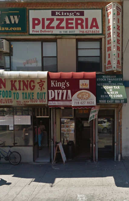 Kings Pizza   meal delivery   1688 East 16th Street, Brooklyn, NY 11229, USA   7186278434 OR +1 718-627-8434