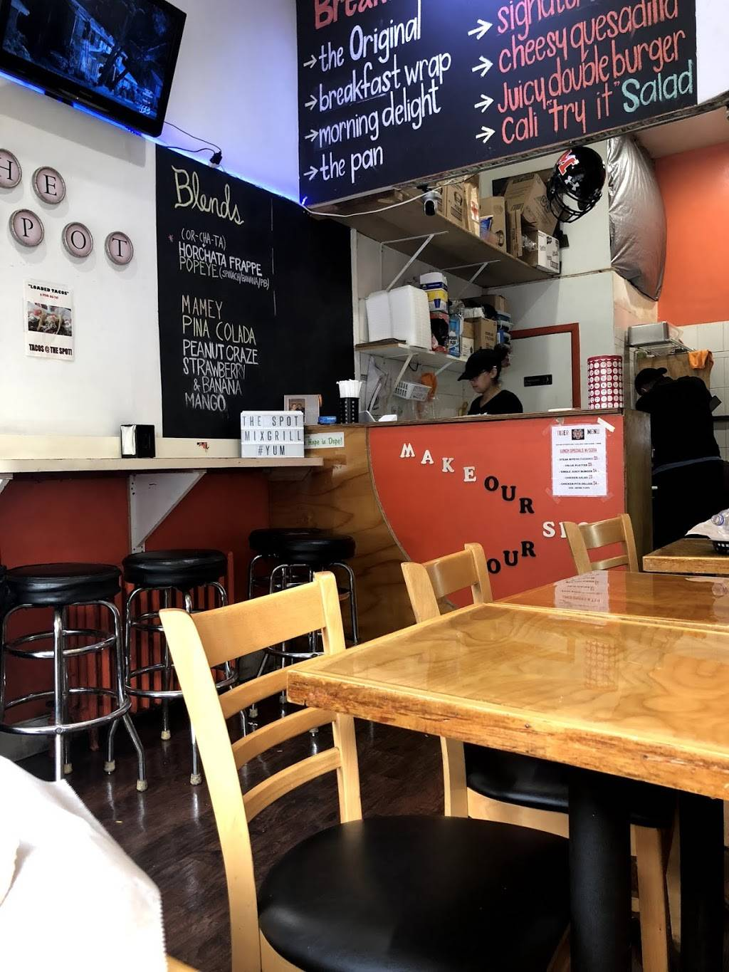 The Spot Mix Grill | restaurant | 5310 Park Ave, West New York, NJ 07093, USA | 2018677768 OR +1 201-867-7768