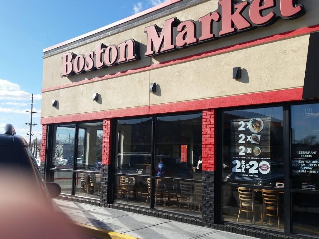 Boston Market | restaurant | 321 Broad Ave, Ridgefield, NJ 07657, USA | 2019450303 OR +1 201-945-0303