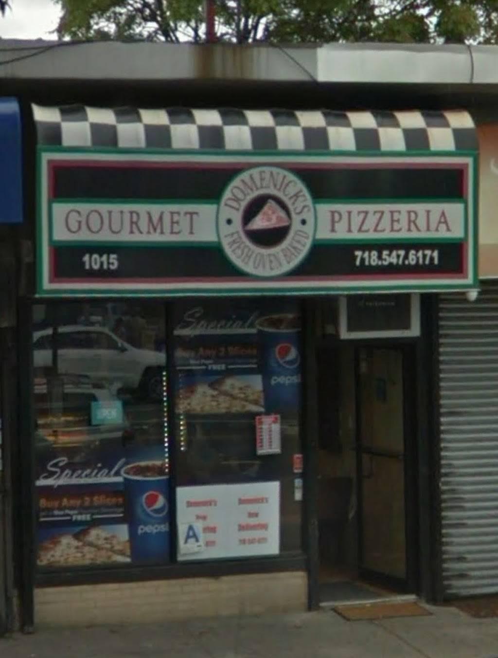 Domenicks Pizzeria   restaurant   1015 Allerton Ave, Bronx, NY 10469, USA   7185476171 OR +1 718-547-6171