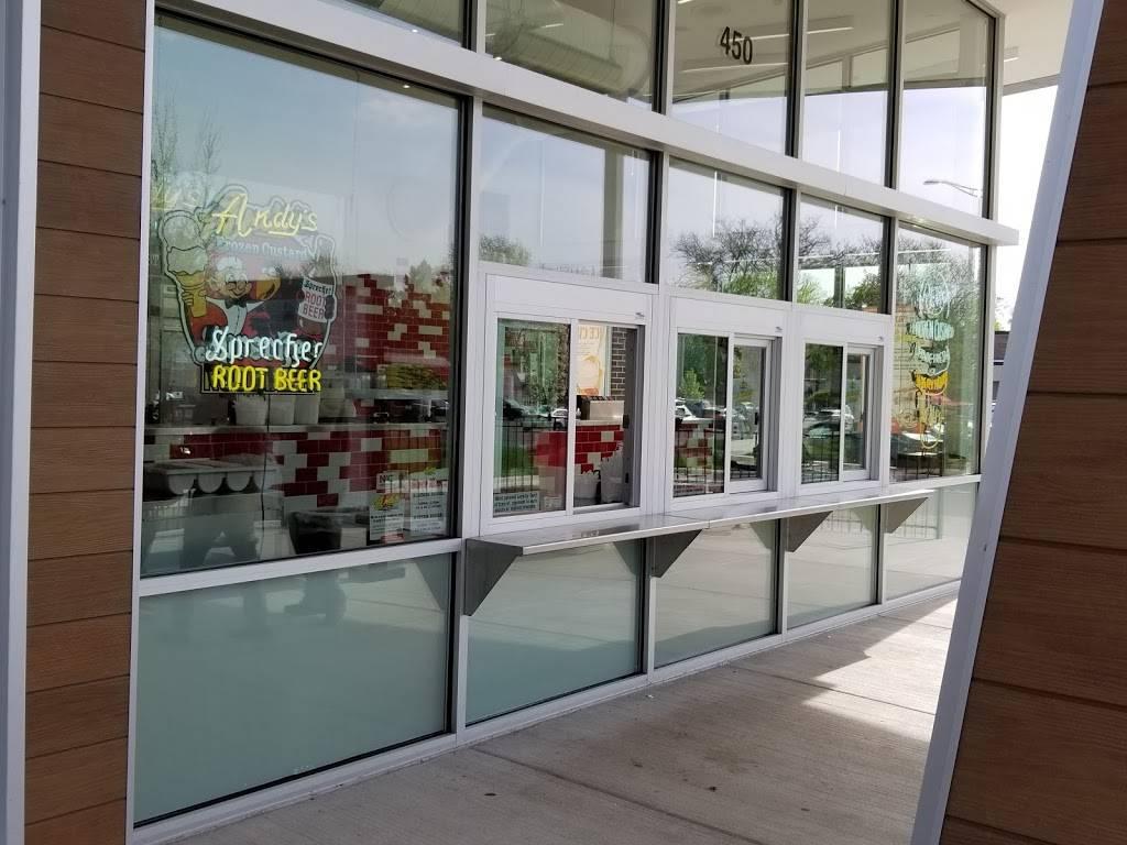 Andys Frozen Custard | restaurant | 450 E Ogden Ave, Naperville, IL 60563, USA | 3312132600 OR +1 331-213-2600