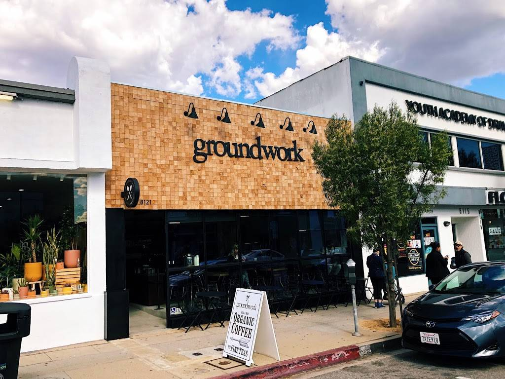 Groundwork Coffee Co.   cafe   8121 W 3rd St, Los Angeles, CA 90048, USA   3238920587 OR +1 323-892-0587