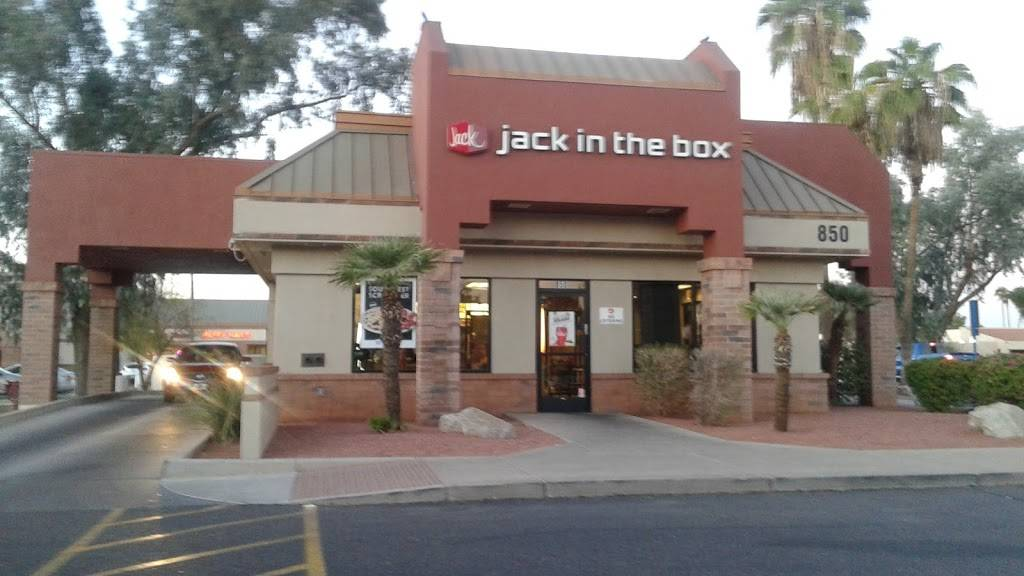 Jack in the Box | restaurant | 850 E Guadalupe Rd, Tempe, AZ 85283, USA | 4807309888 OR +1 480-730-9888