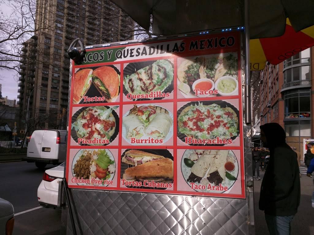 Tacos Y Quesadillas Mexico (Food Truck) | restaurant | 2030 Broadway, New York, NY 10023, USA | 3478467413 OR +1 347-846-7413