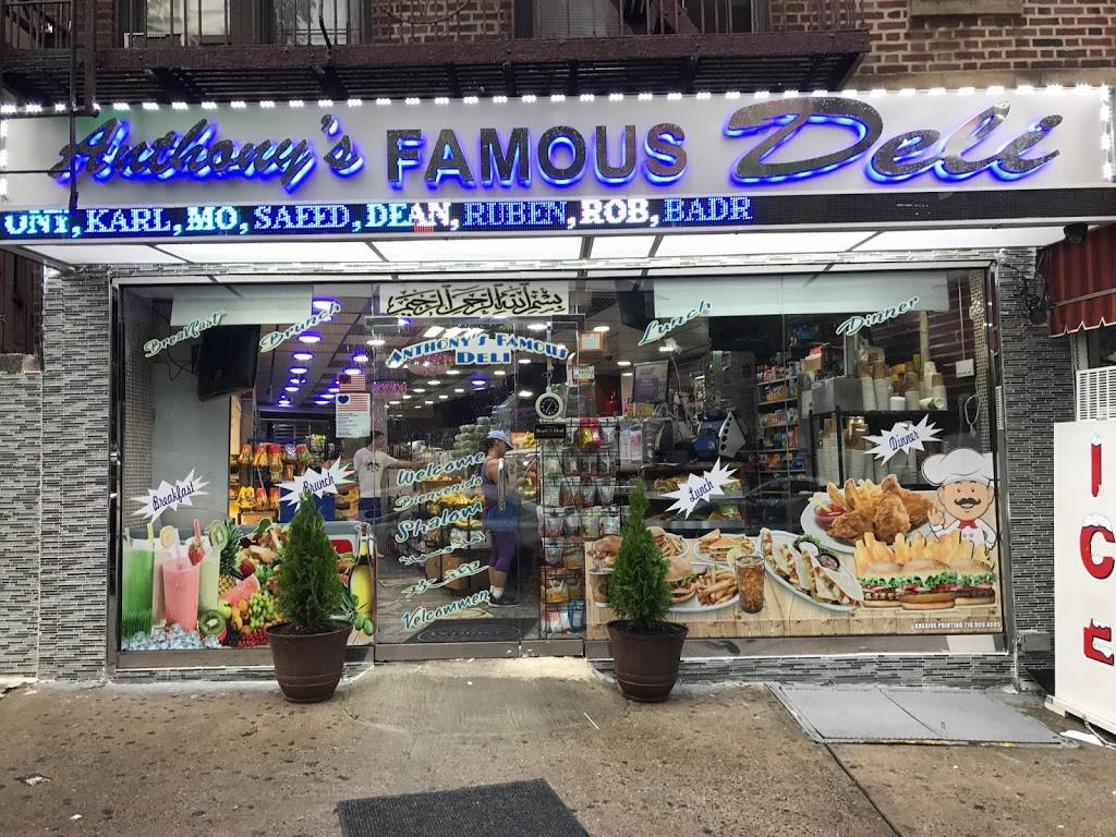 Anthonys Famous Deli | cafe | 169 E Gun Hill Rd, Bronx, NY 10467, USA | 7187984773 OR +1 718-798-4773