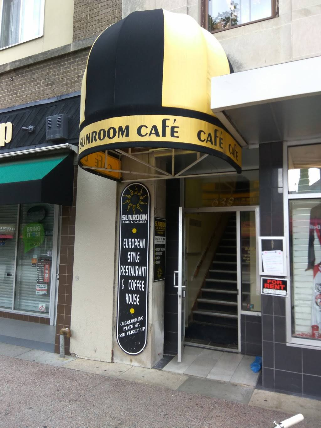 Sunroom Cafe | cafe | 638 State St, Madison, WI 53703, USA | 6082551555 OR +1 608-255-1555