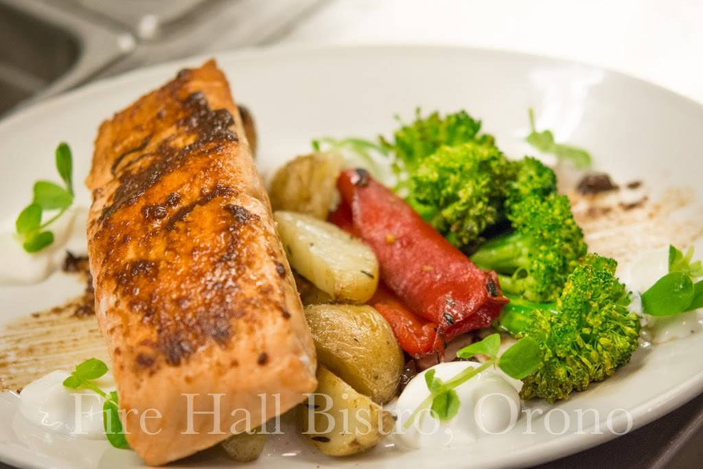 The Fire Hall Bistro | restaurant | 5304 Main St, Orono, ON L0B 1M0, Canada | 9054855304 OR +1 905-485-5304