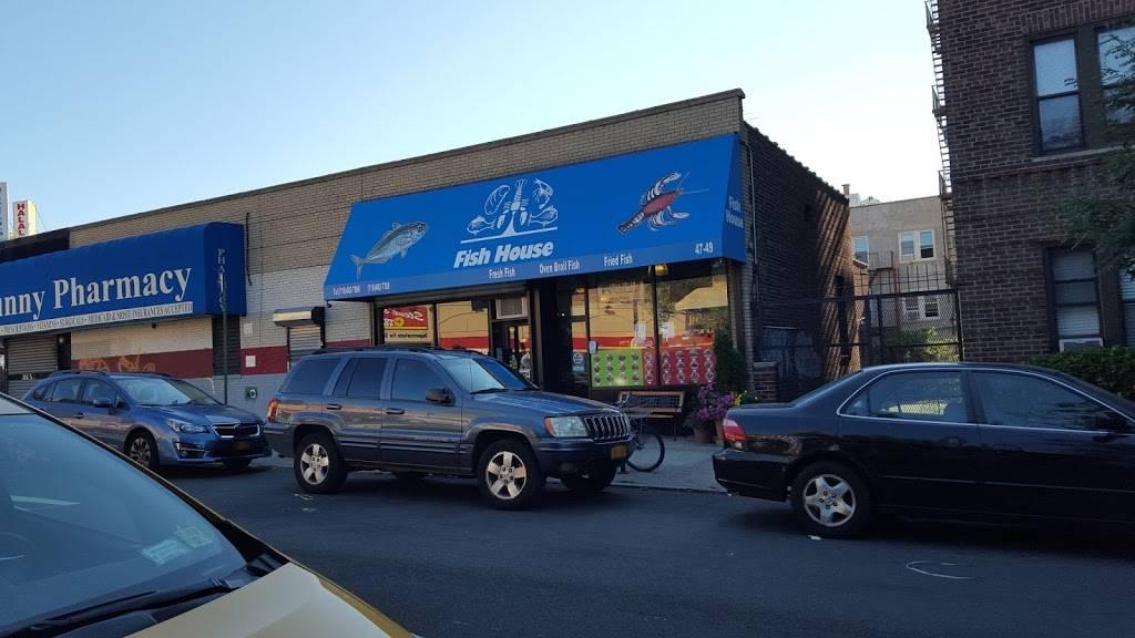 Fish House | restaurant | 47-49 42nd St, Sunnyside, NY 11104, USA | 7184827588 OR +1 718-482-7588