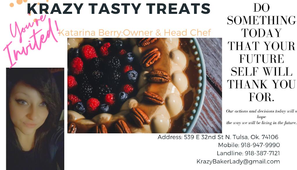 Krazy Tasty Treats | bakery | 539 East 32nd St N, Tulsa, OK 74106, USA | 9189479990 OR +1 918-947-9990