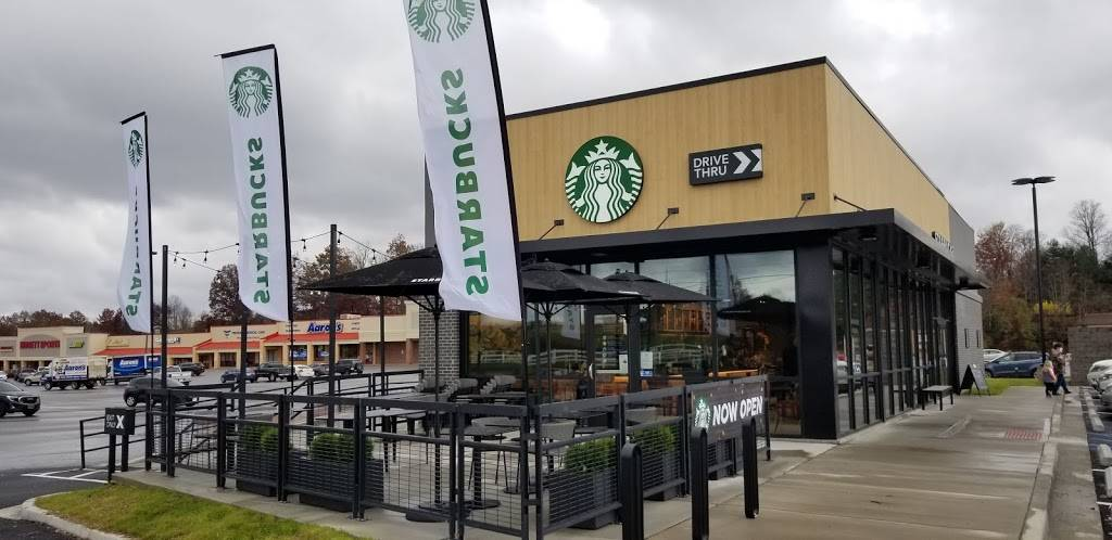 Starbucks | cafe | 301 Merchant Walk, Summersville, WV 26651, USA | 3044276674 OR +1 304-427-6674