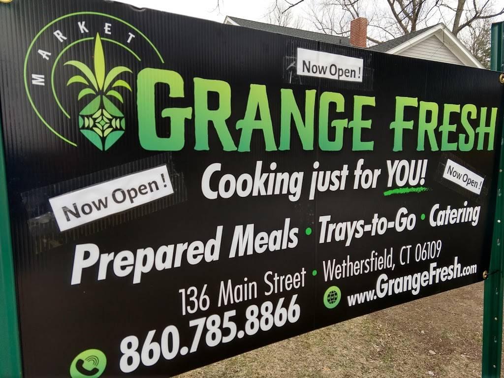 Grange Fresh   meal takeaway   136 Main St, Wethersfield, CT 06109, USA   8607858866 OR +1 860-785-8866