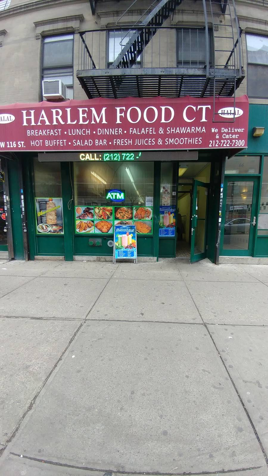 Harlem Food CT | restaurant | 66 W 116th St, New York, NY 10026, USA