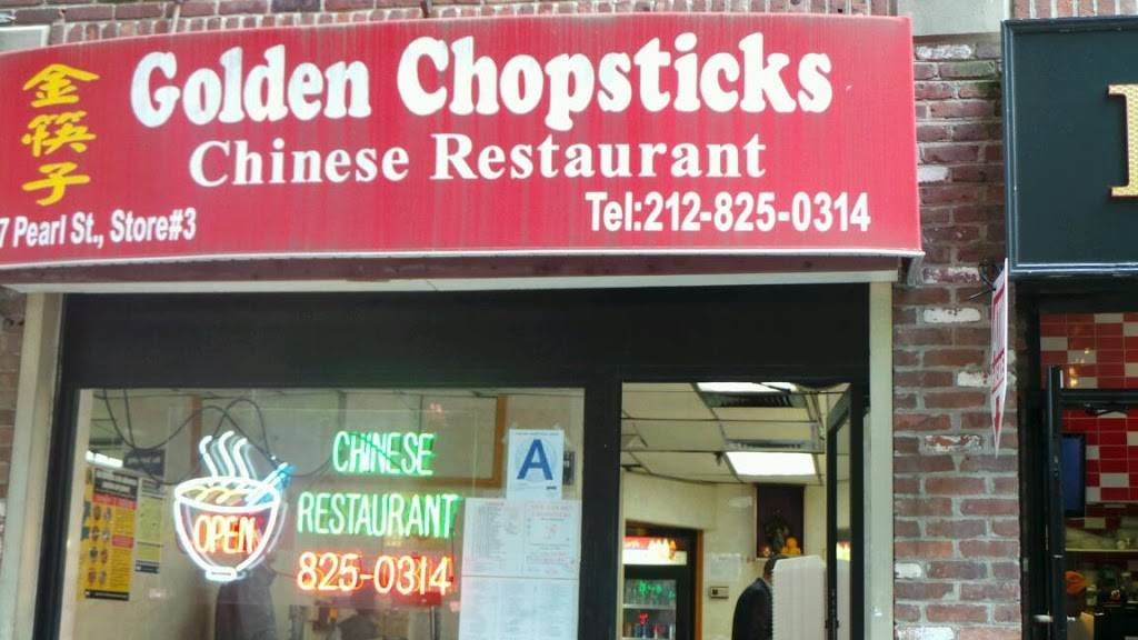New Golden Chopsticks | restaurant | 77 Pearl St #3, New York, NY 10004, USA | 2128250314 OR +1 212-825-0314