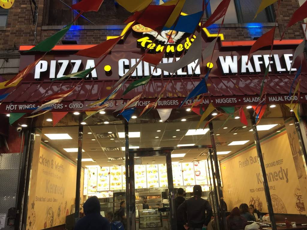 Kennedy Fried Chicken   restaurant   268 Willis Ave, Bronx, NY 10454, USA   7185852440 OR +1 718-585-2440
