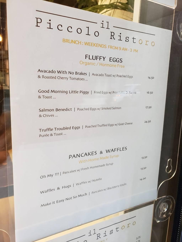 Il Piccolo Ristoro | cafe | 508 W 28th St, New York, NY 10001, USA | 2125643337 OR +1 212-564-3337