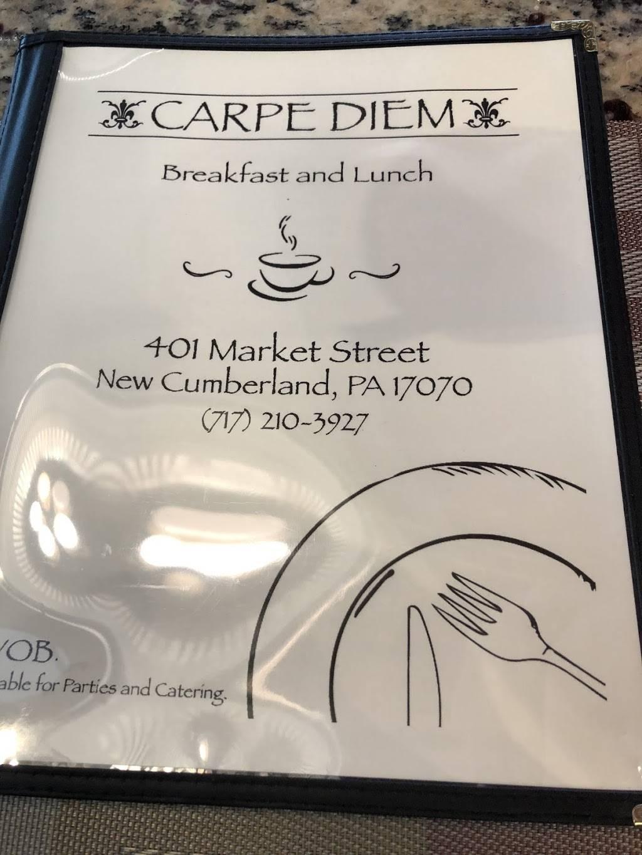Carpe Diem | restaurant | 401 Market St, New Cumberland, PA 17070, USA | 7172103927 OR +1 717-210-3927