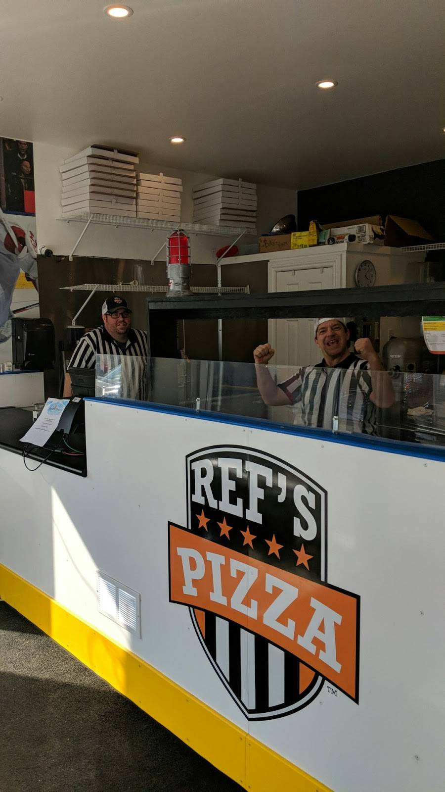 REFS PIZZA | meal delivery | 244 Barrie St unit 2, Thornton, ON L0L 2N0, Canada | 7052911919 OR +1 705-291-1919