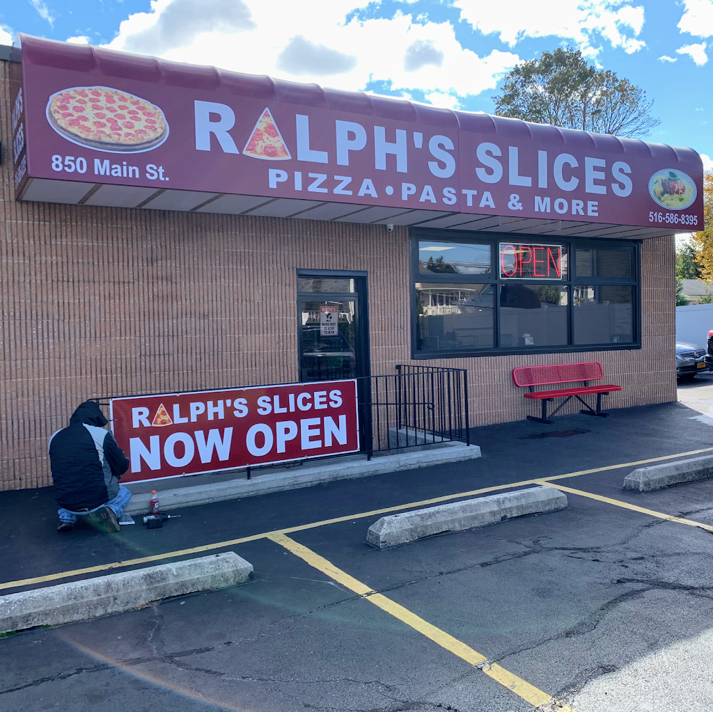 Ralphs Slices Pizza Pasta & More | meal takeaway | 850B Main St, Farmingdale, NY 11735, USA | 5165868395 OR +1 516-586-8395