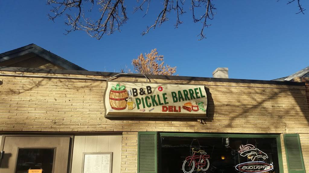 Pickle Barrel | restaurant | 122 W Laurel St, Fort Collins, CO 80524, USA | 9704840235 OR +1 970-484-0235