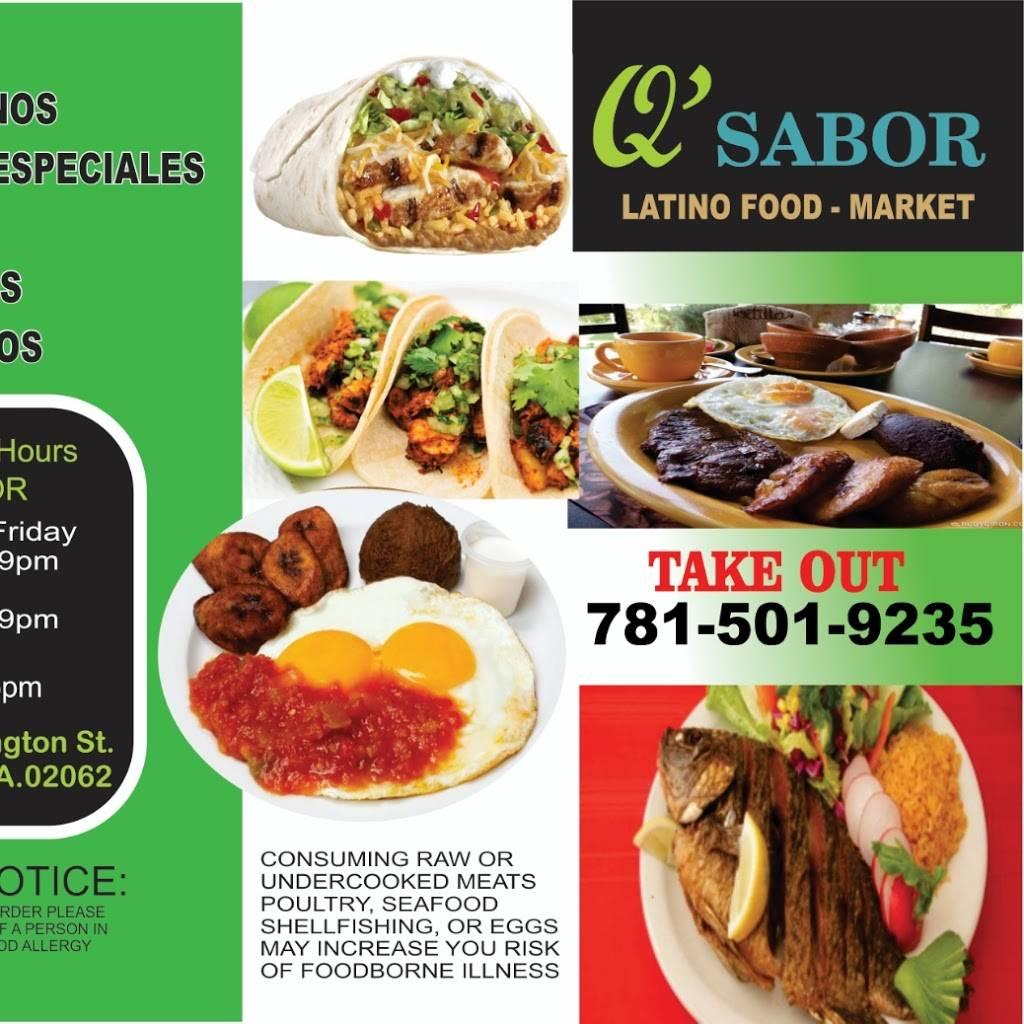 Q Sabor Latino Market Meal Takeaway 1101 Washington St