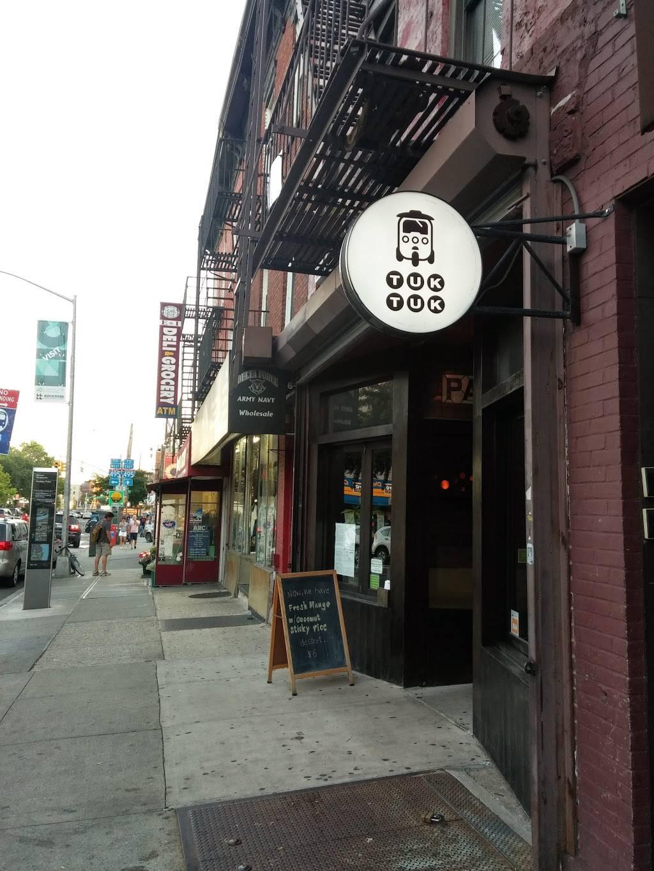 Tuk Tuk | restaurant | 49-06 Vernon Blvd, Long Island City, NY 11101, USA | 7184725598 OR +1 718-472-5598