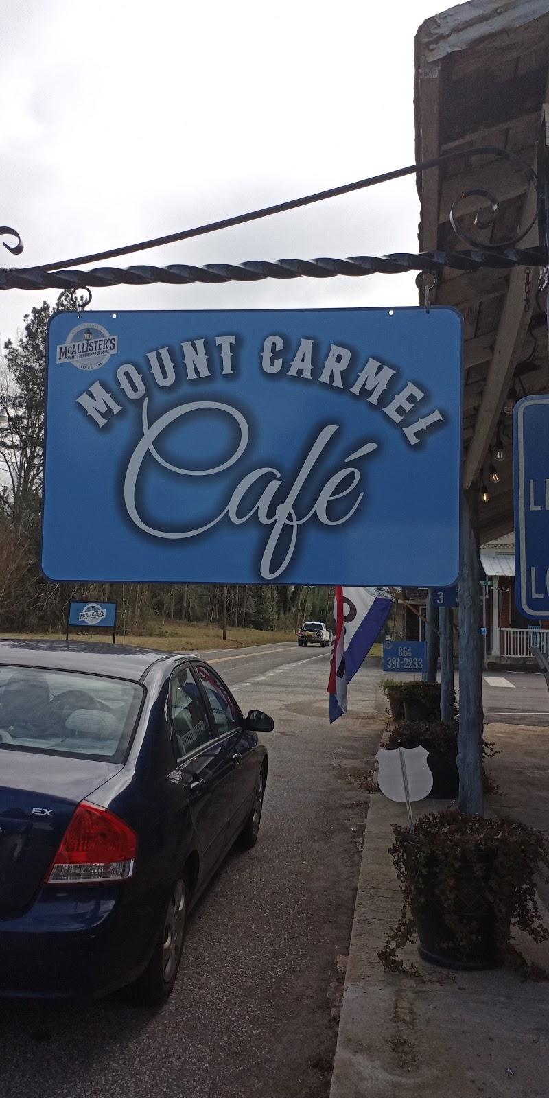 Mount Carmel Café | restaurant | 3883 Main St, Mt Carmel, SC 29840, USA