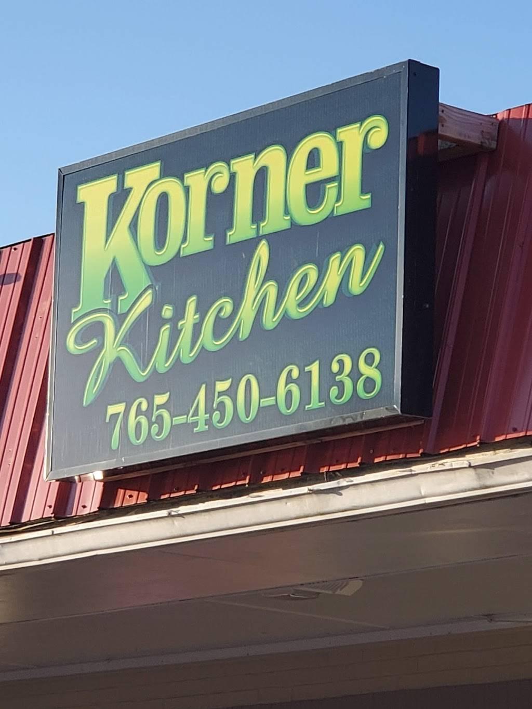 Korner Kitchen | restaurant | 1720 W Blvd St, Kokomo, IN 46902, USA | 7654506138 OR +1 765-450-6138
