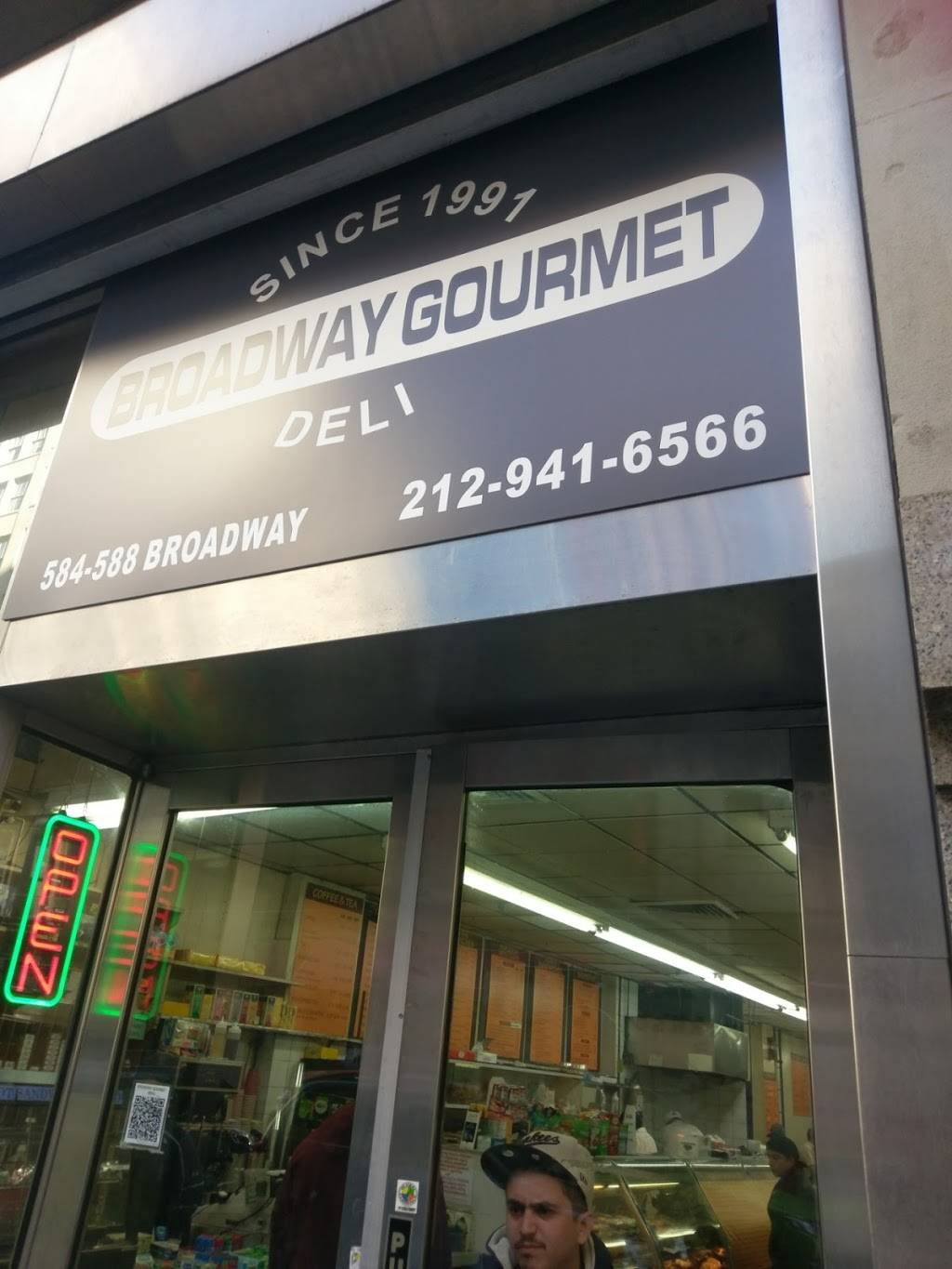 Broadway Gourmet | restaurant | 588 Broadway, New York, NY 10012, USA | 2129416566 OR +1 212-941-6566