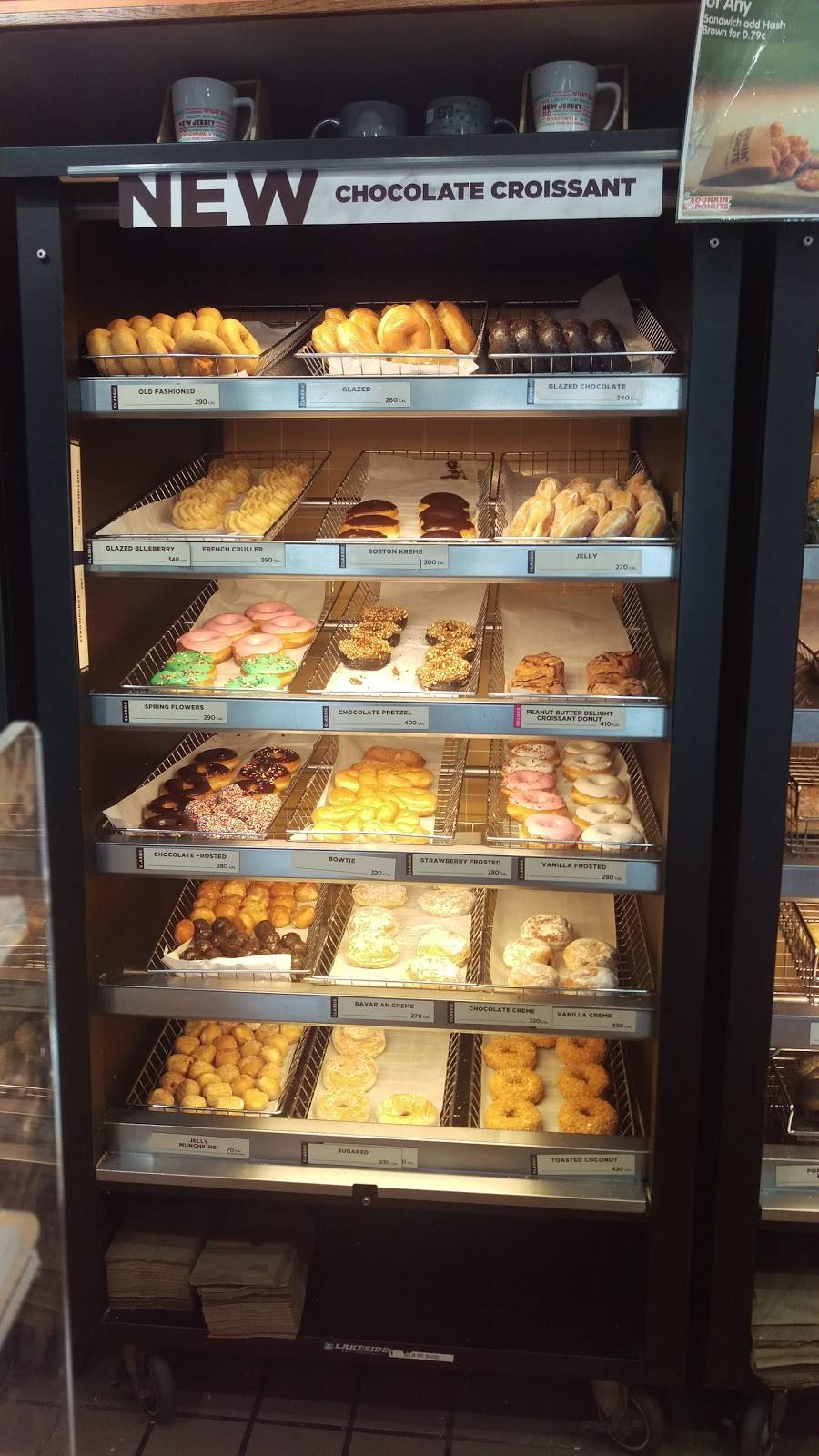 Dunkin Donuts | cafe | 4100 Park Ave, Weehawken, NJ 07086, USA | 2013488700 OR +1 201-348-8700