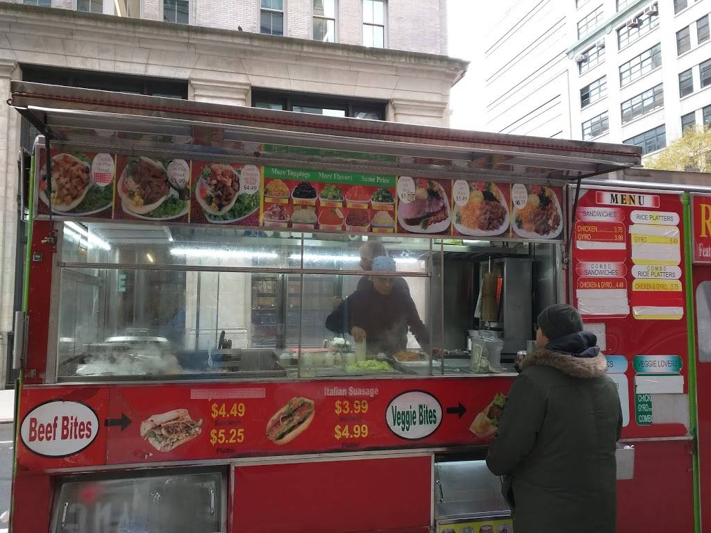 Rafiqis Halal Food Cart | restaurant | New York, NY 10014, USA