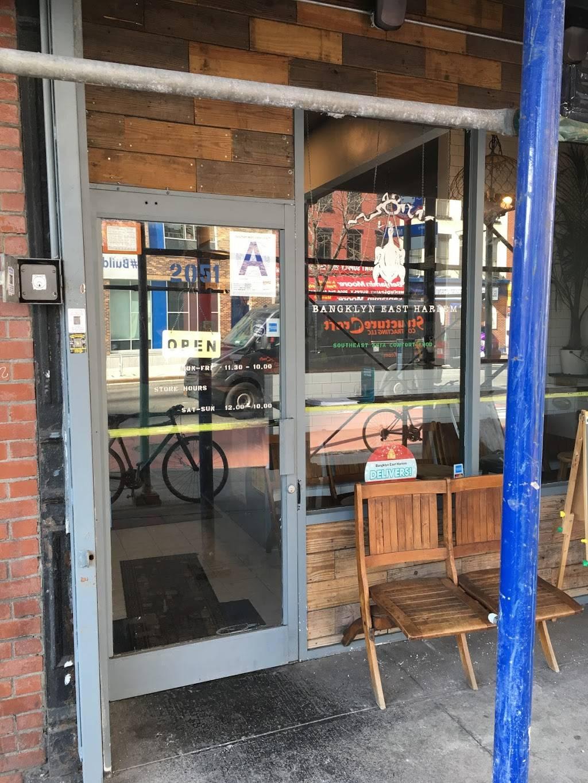 Bangklyn East Harlem   restaurant   2051 2nd Ave, New York, NY 10029, USA   6464298128 OR +1 646-429-8128