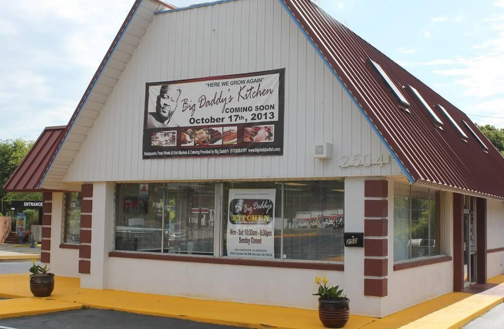 Big Daddy S Kitchen Restaurant 2504 Candler Rd Decatur Ga 30032 Usa