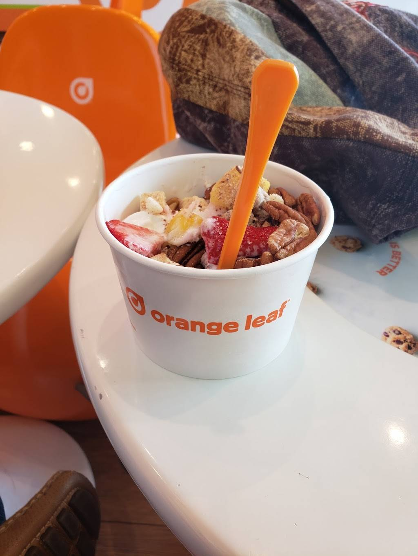 Orange Leaf Frozen Yogurt Bulverde Marketplace   restaurant   17230 Autry Pond Rd Ste 111, San Antonio, TX 78247, USA   2104370656 OR +1 210-437-0656