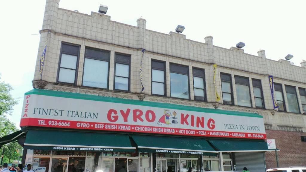 Gyro King   restaurant   50 E Fordham Rd, Bronx, NY 10468, USA   7189336664 OR +1 718-933-6664