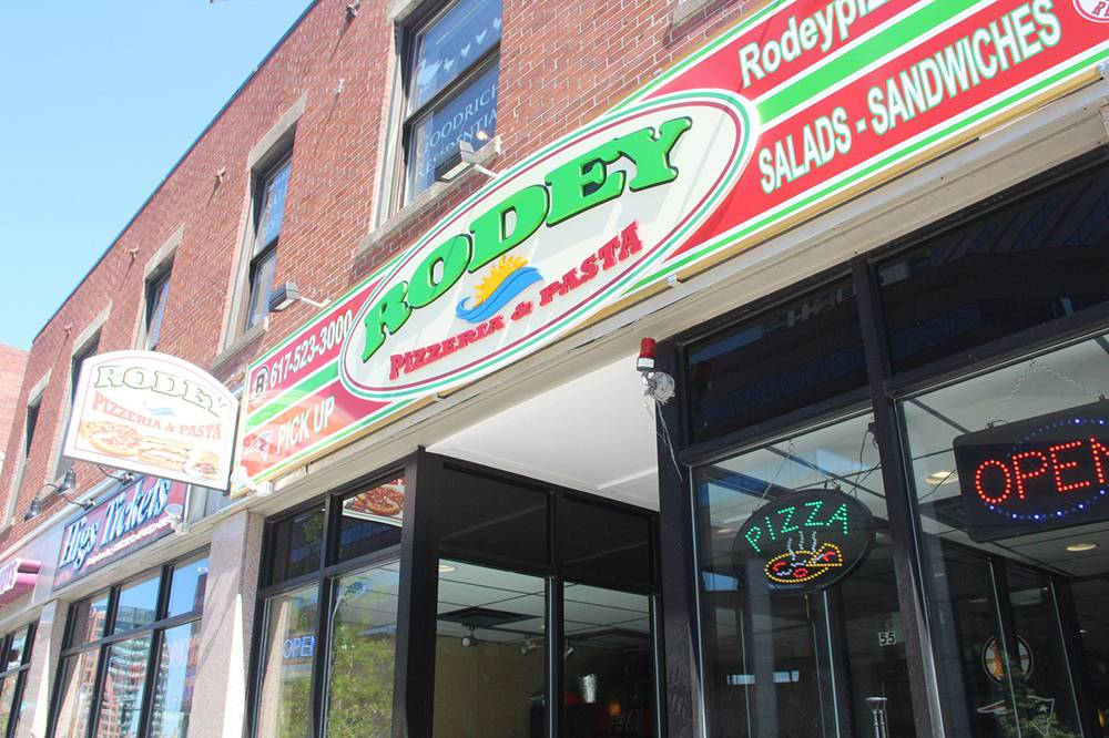 Rodey Pizzeria & Pasta | meal takeaway | 55 Causeway St, Boston, MA 02114, USA | 6175233000 OR +1 617-523-3000
