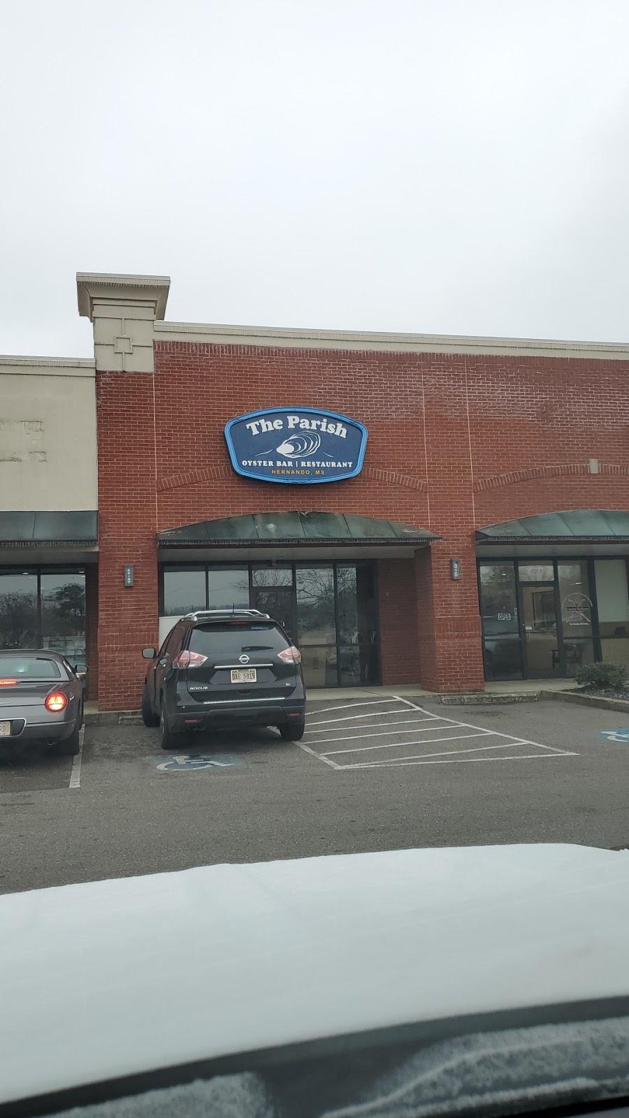 The Parish Oyster Bar & Restaurant   restaurant   427 E Commerce St, Hernando, MS 38632, USA