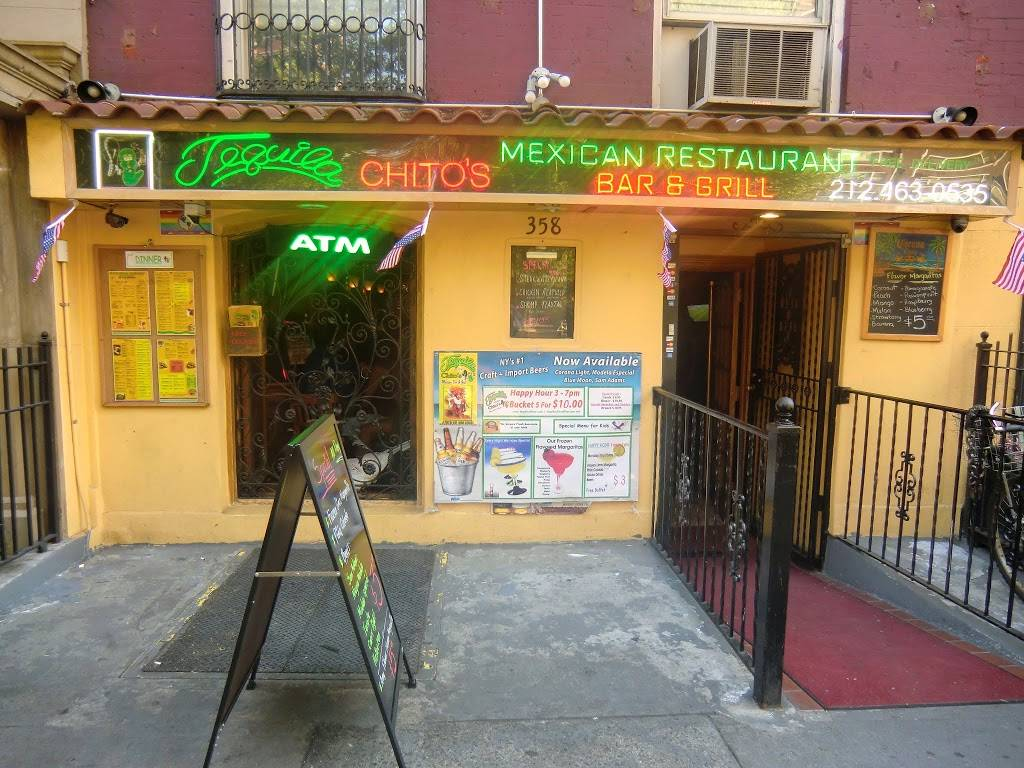 Tequilas Mexican Grill | restaurant | 358 W 23rd St, New York, NY 10011, USA | 2124630535 OR +1 212-463-0535