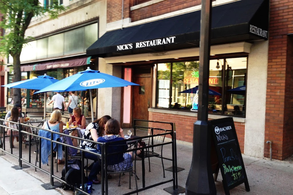 Nicks Restaurant and Lounge   restaurant   226 State St, Madison, WI 53703, USA   6082555450 OR +1 608-255-5450