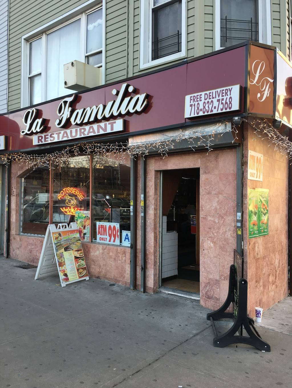 La Familia   restaurant   938 4th Ave, Brooklyn, NY 11232, USA   7188327568 OR +1 718-832-7568