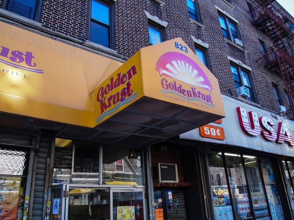 Golden Krust   restaurant   823 Franklin Ave, Brooklyn, NY 11225, USA   7184933865 OR +1 718-493-3865