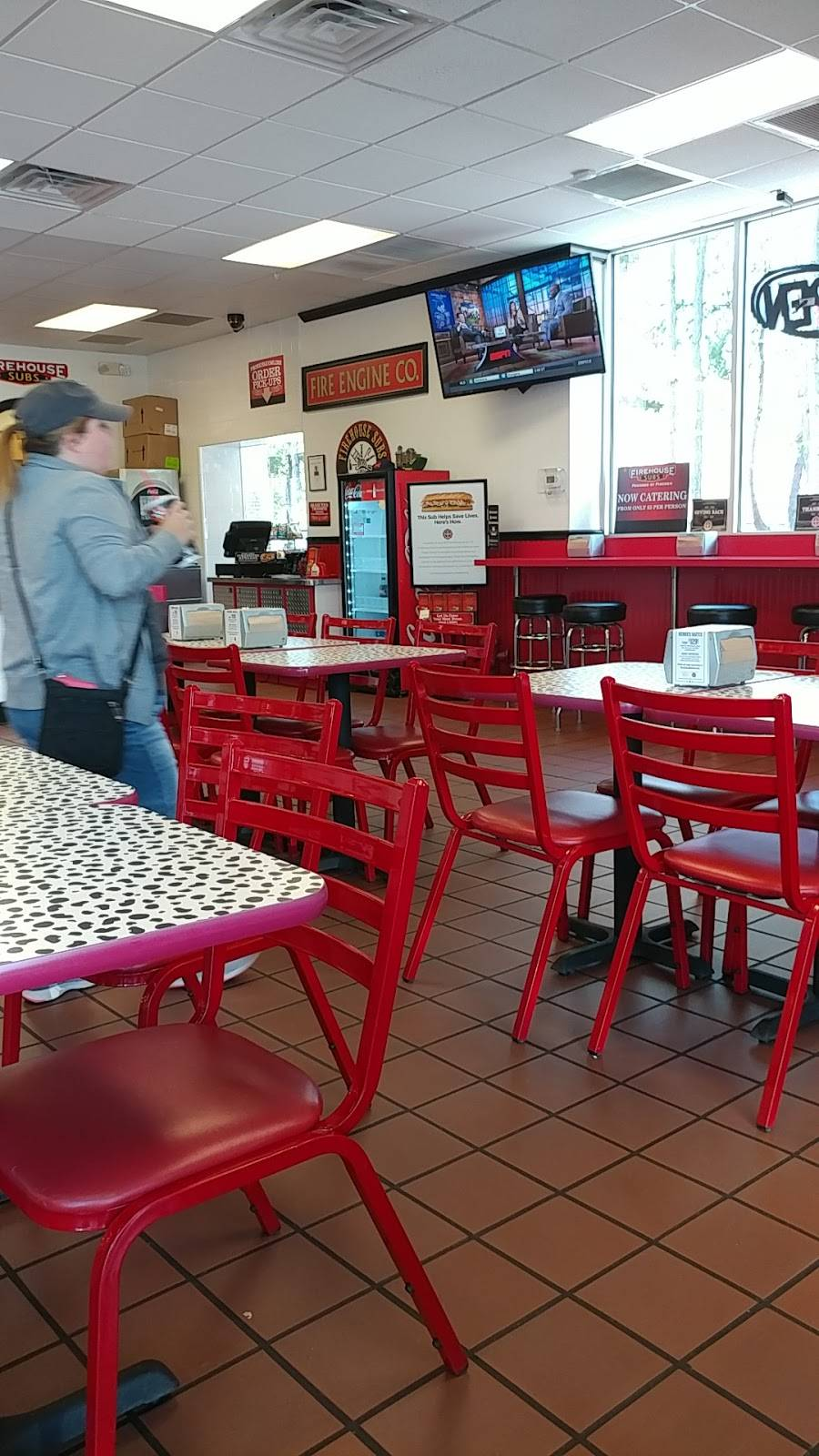 Firehouse Subs   meal delivery   1300 W Corporate Ct, Lithia Springs, GA 30122, USA   7704854552 OR +1 770-485-4552