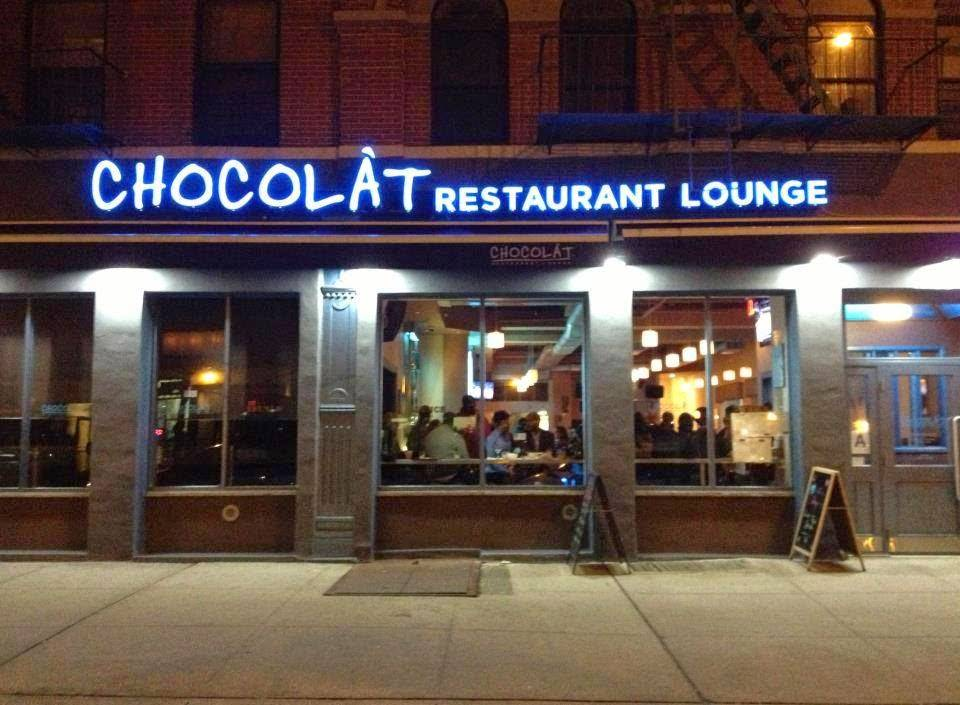 Chocolat Restaurant & Bar | restaurant | 2223 Frederick Douglass Blvd, New York, NY 10026, USA | 2122224545 OR +1 212-222-4545